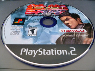 Playstation 2 Tekken Tag Ps2 Solo Disco