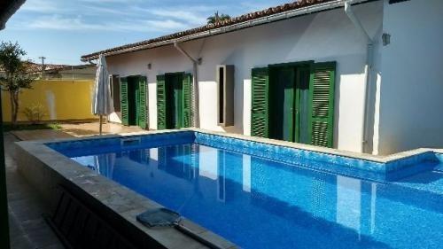 Casa No Litoral Com Piscina 3 Quartos Em Itanhaém/sp 3031pc