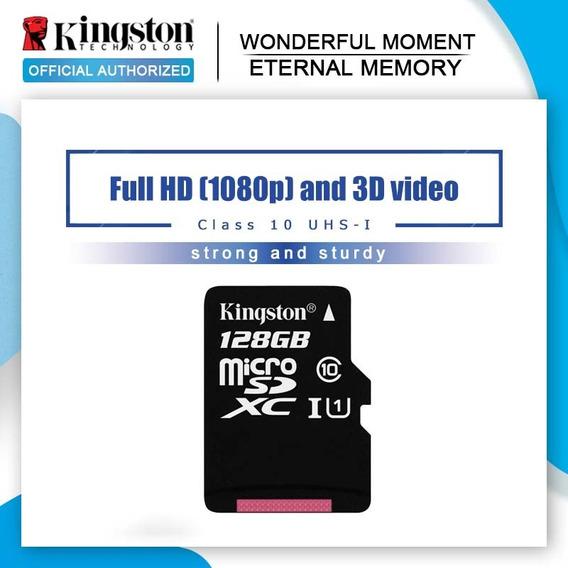 Kingston Micro Sd Cartão 128gb Class10 Cartão De Memória Fla