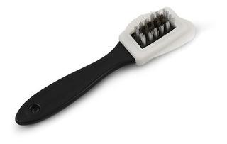 Cepillo Limpieza Zapatos Blanco Y Negro Para Gamuza Nubuck B