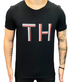 3 Camisetas Tommy Hilfiger Ou Ralph Lauren Marca Famosa - G