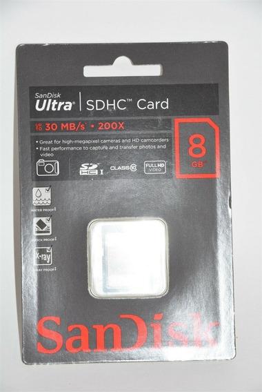 Sandisk Ultra 8gb Sdhc Class 10/uhs-1 Flash 30mbs