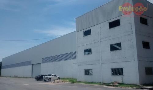 Galpão Industrial/ Comercial - Município De Cabreúva-sp - Ga0041