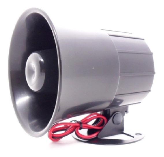 Sirene Corneta 12 V 115 Db Média Para Sistema De Segurança