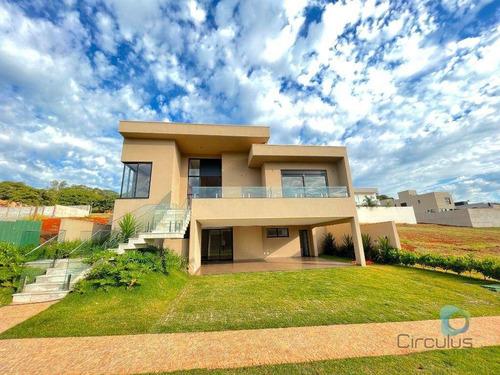 Casa 04 Com Suítes, 395 M² C/ Elevador - Alphaville Iii - Ribeirão Preto/sp - Ca1096