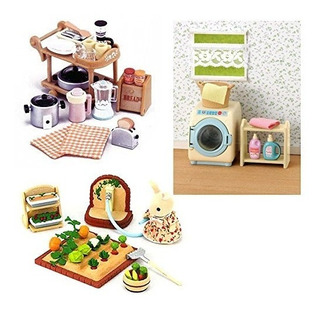 3 Sets - Lavadora, Electrodomésticos De Cocina - Huerto (jap
