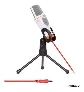 Microfono Youtube Computador Condensador Profesional W01