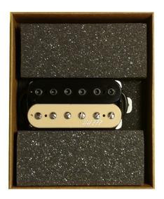 Captador Malagoli Custom Hh777 Zebra P/c Ponte Guitarra