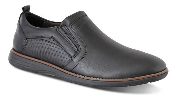 Sapato Social Ferracini Masculino Couro - Preto 6121-559l