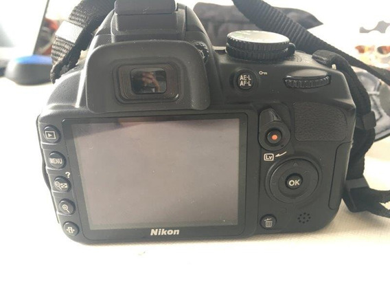 Camera Digital Nikon Dslr D3100 Usada - R$ 1199,00