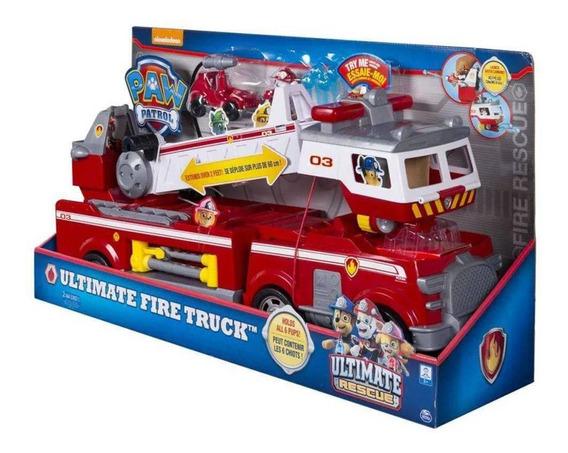 Patrulha Canina - Caminhão De Bombeiro Resgate Extremo 1387