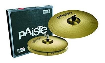 Platillo Paiste 101 Essential Set 13/18 Hi -hat 13 Crash 18