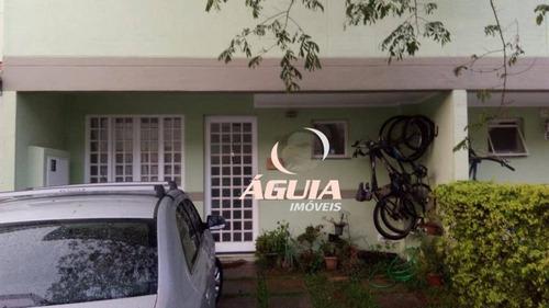 Sobrado Com 3 Dormitórios À Venda, 80 M² Por R$ 490.000,00 - Utinga - Santo André/sp - So1491