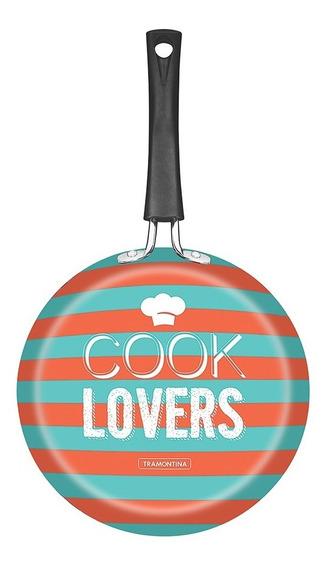 Sartén Viva Cook Lovers 24 Cm Good Lock Aluminio Tramontina