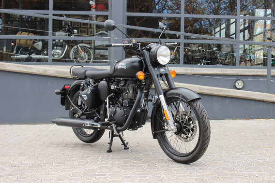 Royal Enfield Classic 500 Negra - Stock Disponible