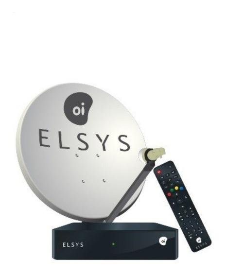 Receptor Oi Tv Livre Etrs 40 Antena + Ku Duplo E Cabos