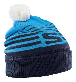 Gorro Beanie Izi Esquí Alpino Montaña Azul/marino Salomon