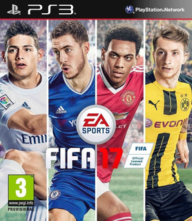 Fifa 17 Ps3 Entrega Inmediata Original