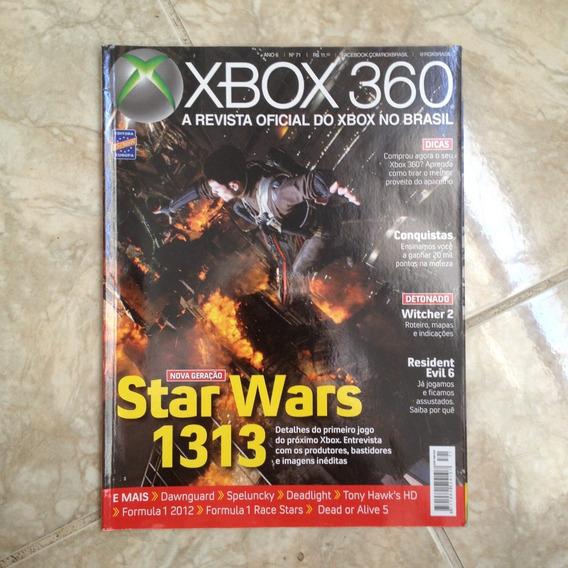 Revista Xbox 360 71 Star Wars 1313 Deadlight Tony Hawk