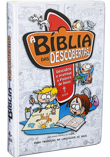 Bíblia Das Descobertas Infanto Juvenil Menino Ou Menina