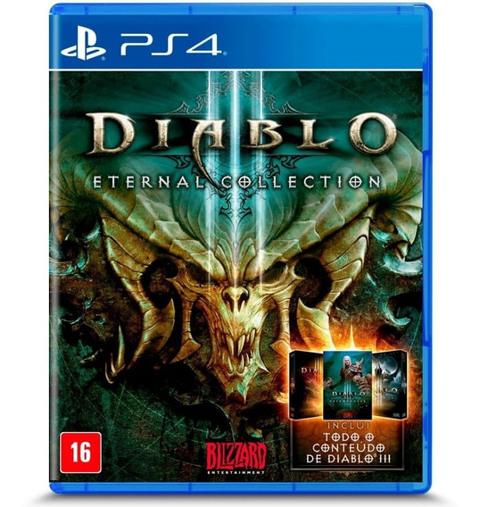 Diablo Iii: Eternal Collection Psn Digital Psn Vitalícia