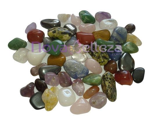 Pedras Mistas Roladas 2 Kg No Atacado P/artesanato Orgonite