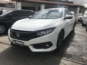 Honda Civic Sport Cvt 2017 Branca Flex