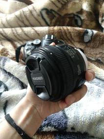 Nikon D5300 Lente 18-55 + 50mm Da Yongnuo