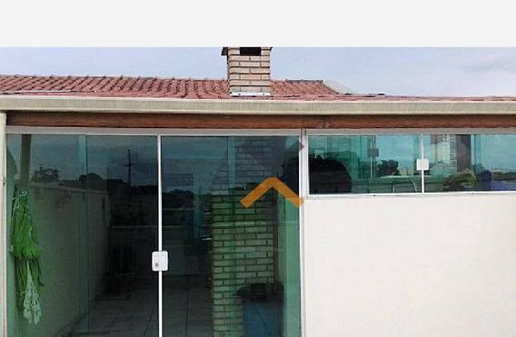 Cobertura Sem Condomínio Com 2 Dormitórios À Venda, 50 M² Por R$ 320.000 - Jardim Santo Alberto - Santo André/sp - Co0093