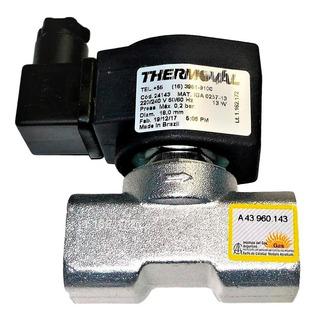 Válvula Solenoide Gas 1/2 Thermoval Compatible Nacional