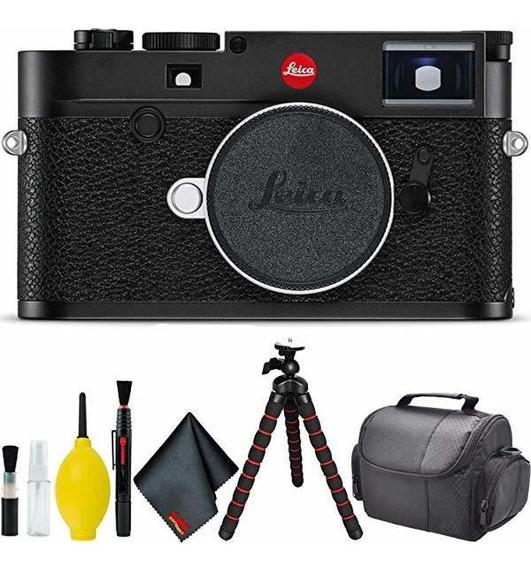 Camara Leica M10 Digital Rangefinder Black Standard Bundle ®