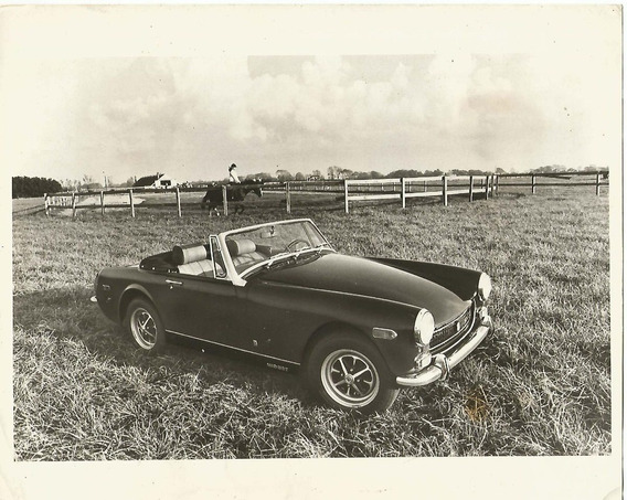 Foto Original Austin Mg Midget - Data Provável Da Foto 1972