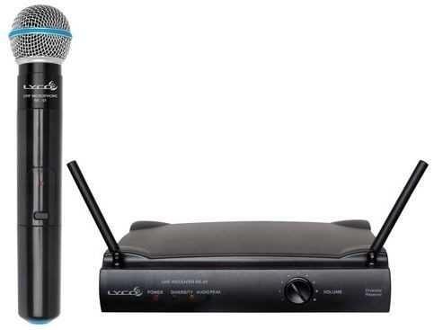 Microfone Sem Fio Lyco Uh-01m Fonte Bivolt
