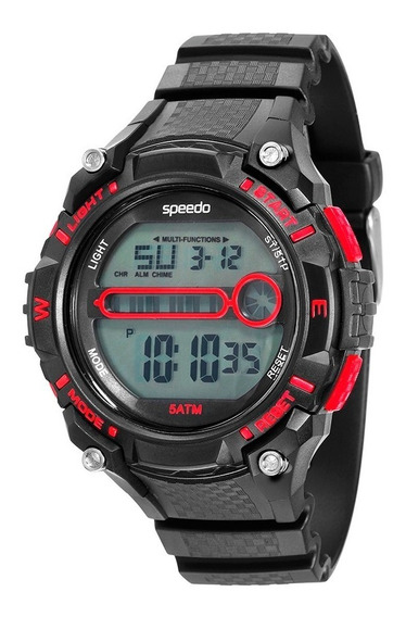 Relógio Speedo Sport Life Digital Crono Alarme 81080g0egnp1