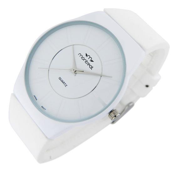 Reloj Montreal Mujer Ml541 Extra Chato Envío Gratis