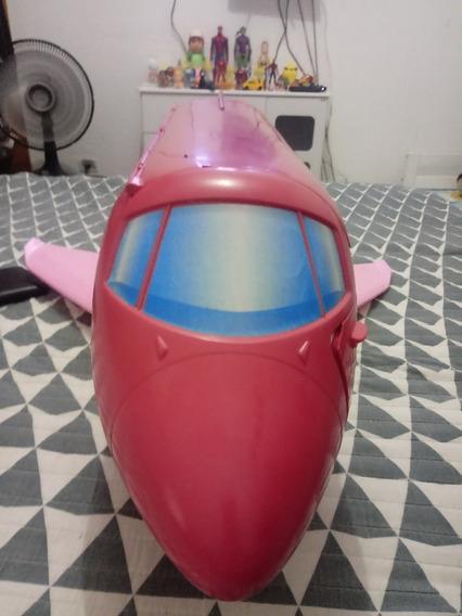 Avião Antigo Da Barbie Glam Jet Barbie Glam