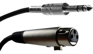 Cable Canon Hembra Plug Balanceado Audiopipe 9m Musicapilar