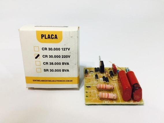 Placa Para Eletrificador Cr 30km 220v - Sentinela