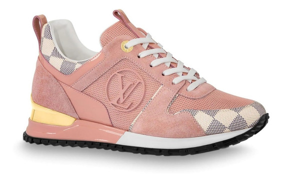 Tênis Louis Vuitton Run Away Rose