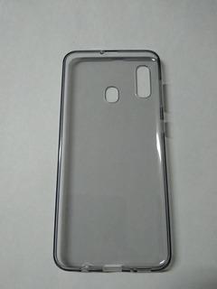 Protector Funda Silicona Transparente Samsung A30 Sin Uso