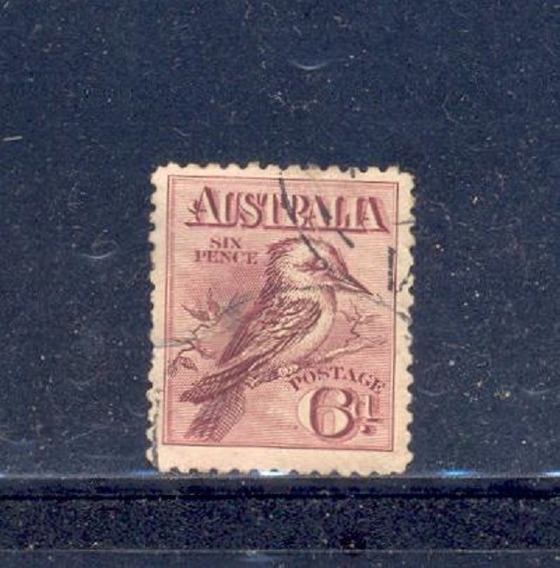 Estampilla - Australia 1913 - Inhallable