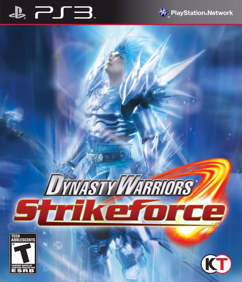 Jogo Dynasty Warriors Strikeforce (novo) Ps3