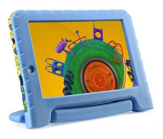"Tablet 7"" Com Wifi Multilaser Discovery Kids Nb290 - A"