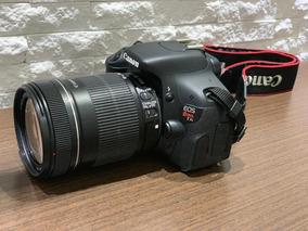 Canon T3i/600d + 18-135mm + Bolsa + Tripé ** 4000 Clicks **