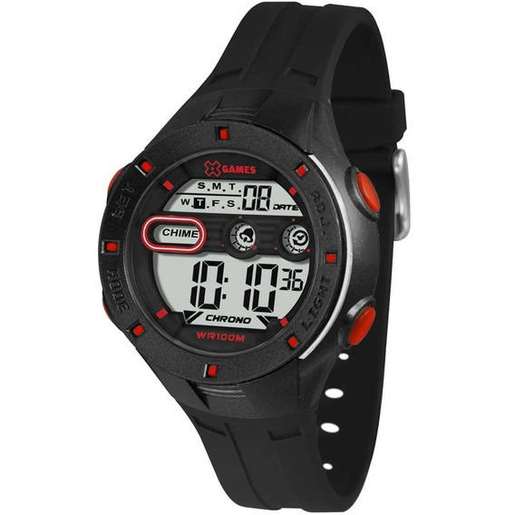 Relógio X-games Infantil Xkppd050bxpx