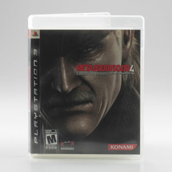 Metal Gear Solid 4 Guns Of The Patriots Ps3 Mídia Física
