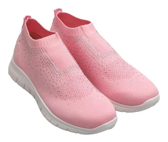 Zapatillas Mujer Livianas Elastizadas Aplique ¡¡mas Modelos!