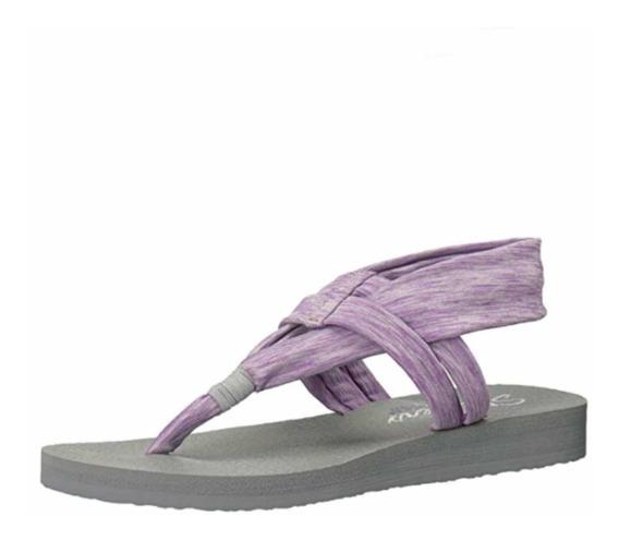 Sandalia Skechers Para Dama Meditation Studio Kicks T24