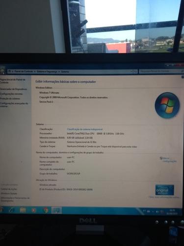 Computador Positivo Intel  Core Duos 2completo 320 Gb 4 Gb