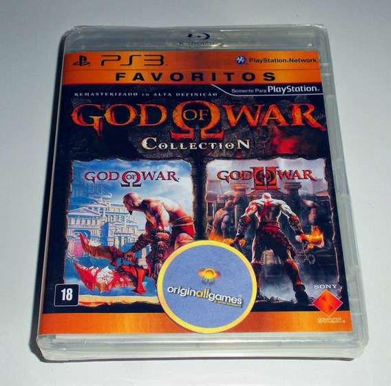 God Of War Collection ¦ Ps3 Original Lacrado ¦ Mídia Física